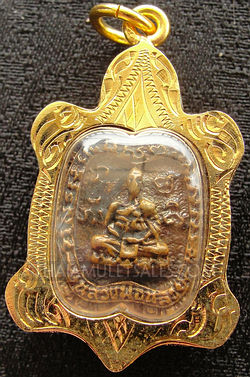 Luang Phor Tuad good luck turtle pendant from Thailand.