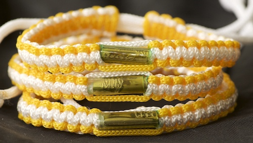 Adjustable blessed Thai Buddhist bracelets from Southern Thailand.